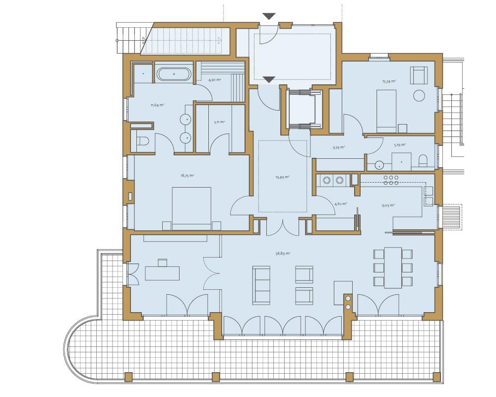 Grundrisse und Pläne vom Bauvorhaben Die Begas Villen size: 1000 x 800 post ID: 0 File size: 0 B