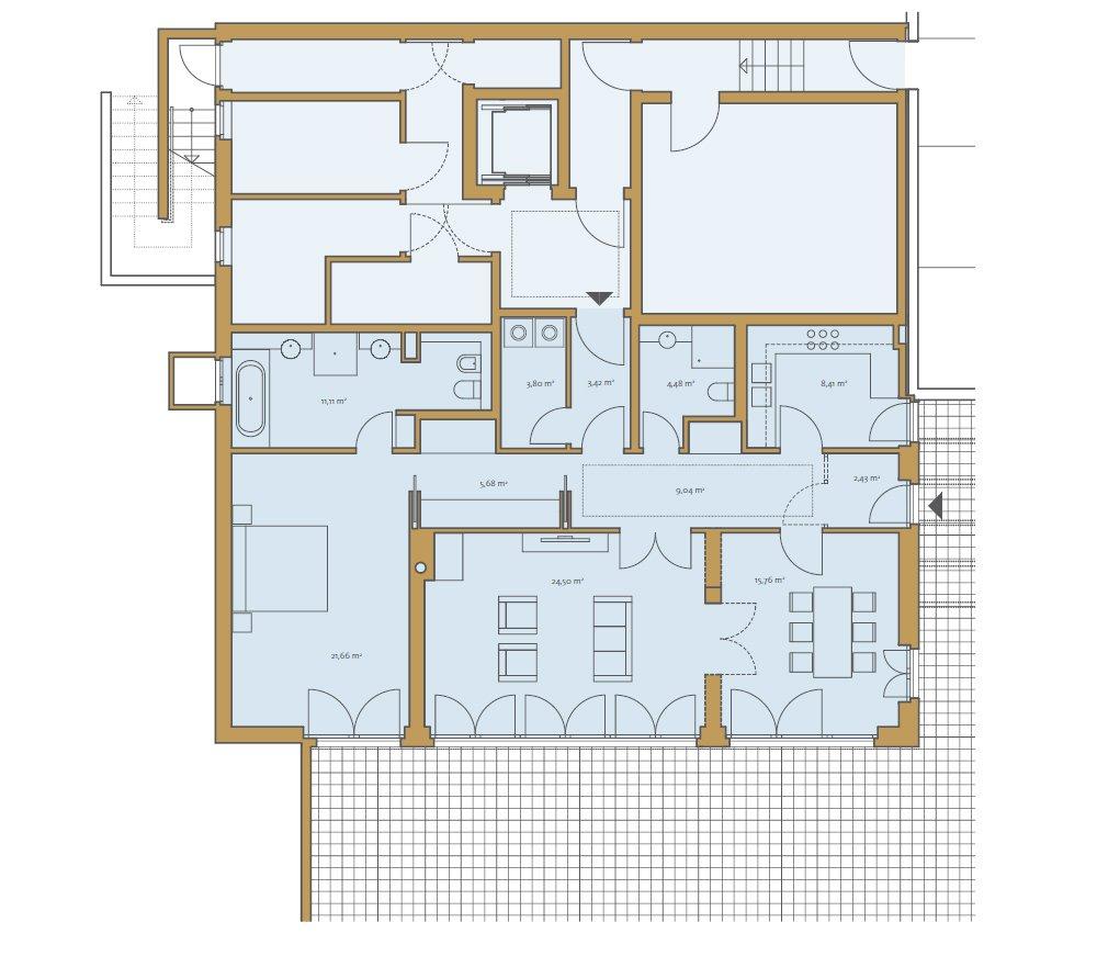 Grundrisse und Pläne vom Bauvorhaben Die Begas Villen size: 1000 x 871 post ID: 5 File size: 0 B