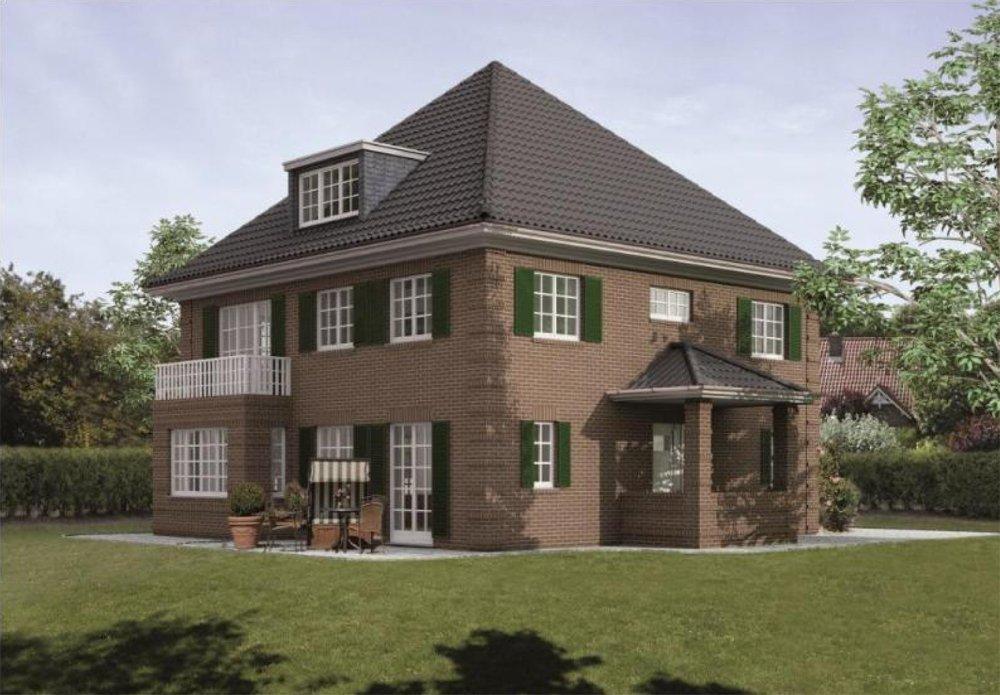 bauobjekt einfamilienhaus hamburger kaffeem hle. Black Bedroom Furniture Sets. Home Design Ideas