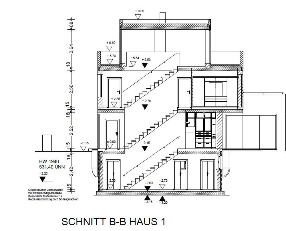 Grundrisse und Pläne vom Bauvorhaben infamilienhaus München-rudering size: 1000 x 809 post ID: 2 File size: 0 B