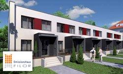 Noch zwei Häuser: In Casa Stadthäuser im Bauhausstil