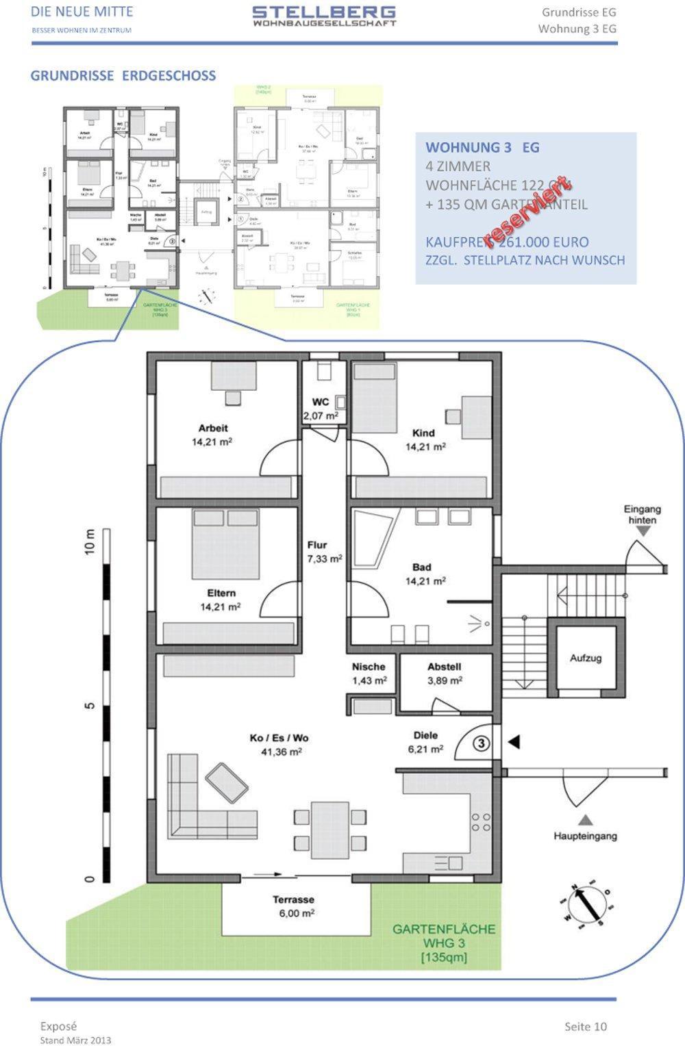 die neue mitte graben neudorf stellberg wohnbau neubau immobilien informationen. Black Bedroom Furniture Sets. Home Design Ideas