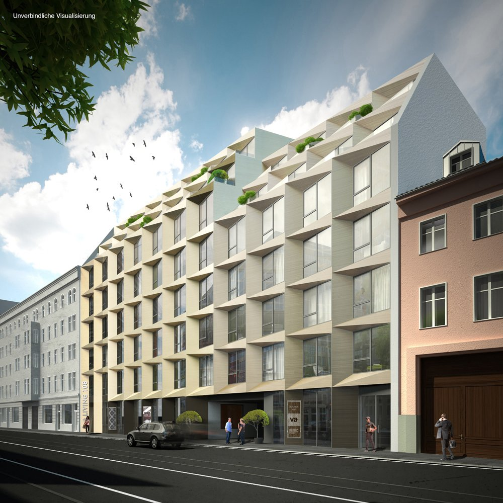 living 108 berlin mitte jll residential neubau immobilien informationen. Black Bedroom Furniture Sets. Home Design Ideas