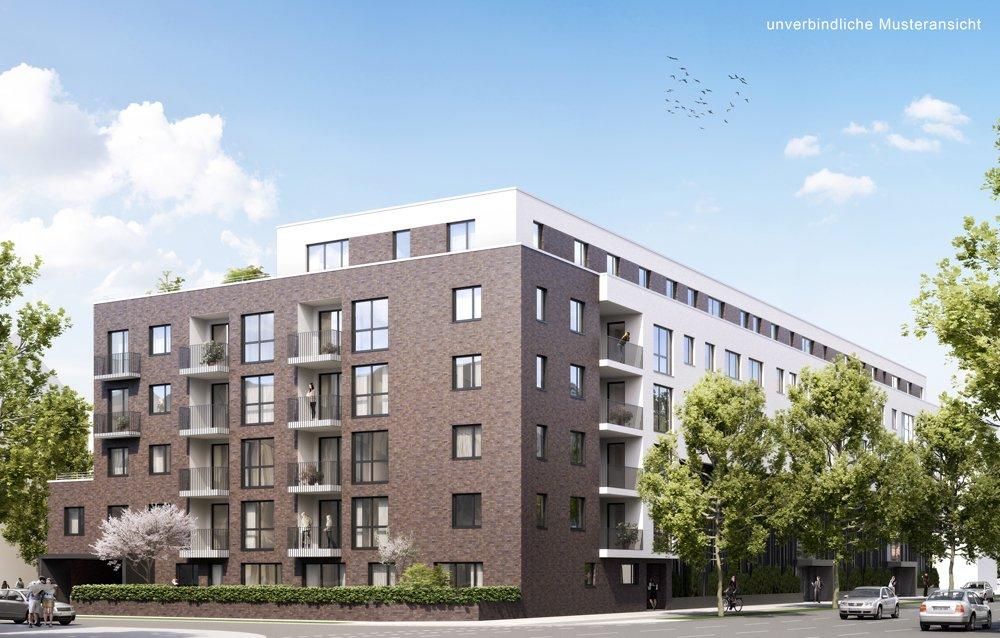 Drosselstraße 15 | Neubau von 50 Eigentumswohnungen | Drosselstraße 15, | 22305 Hamburg / Barmbek