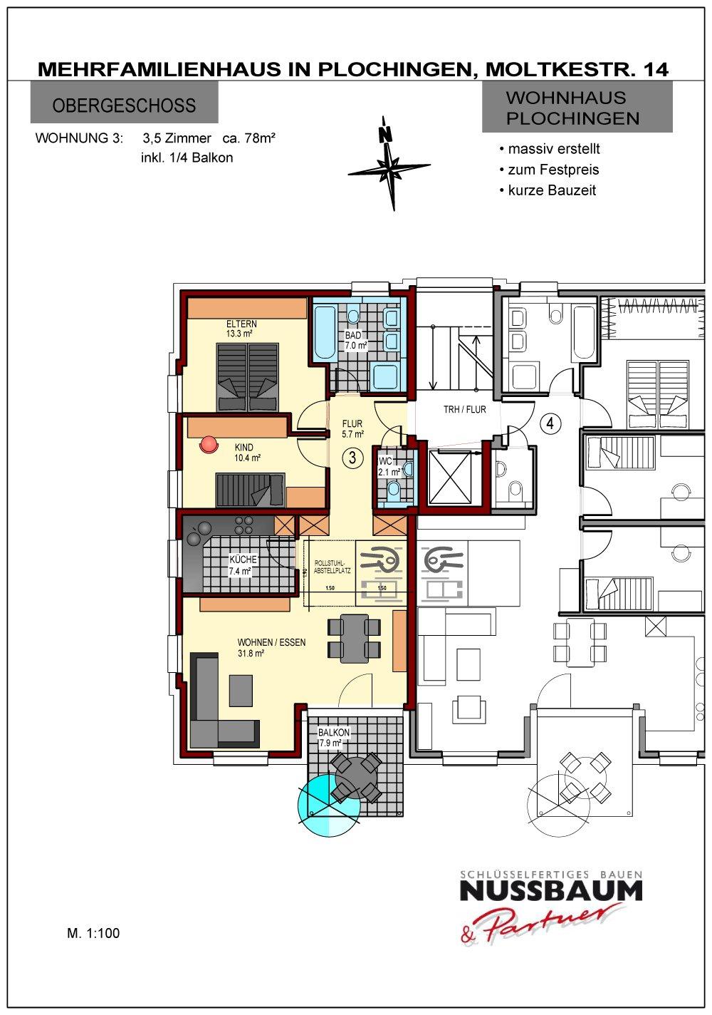 mehrfamilienhaus plochingen plochingen nu baum. Black Bedroom Furniture Sets. Home Design Ideas