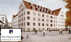 Neubauprojekt mit 4 Haustypen: KARREE am Donaumarkt