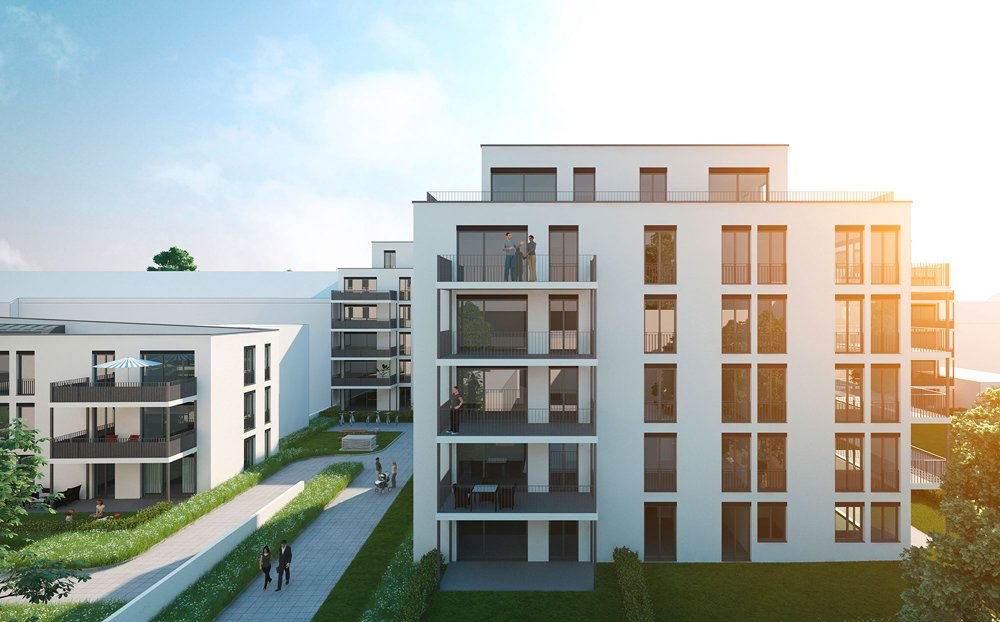 Luisenhof quartier offenbach am main city grundbesitz for Immobilien offenbach