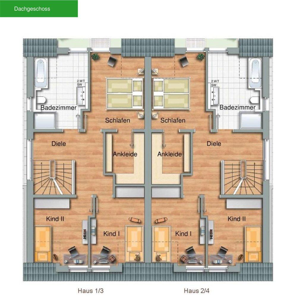 Moderne doppelhäuser grundrisse  moderne doppelhäuser | Modernes Haus