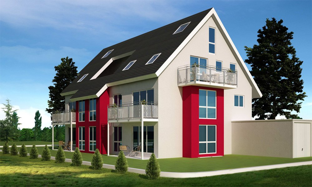 Mehrfamilienhaus reinekeweg stuttgart heumaden for Mehrfamilienhaus neubau