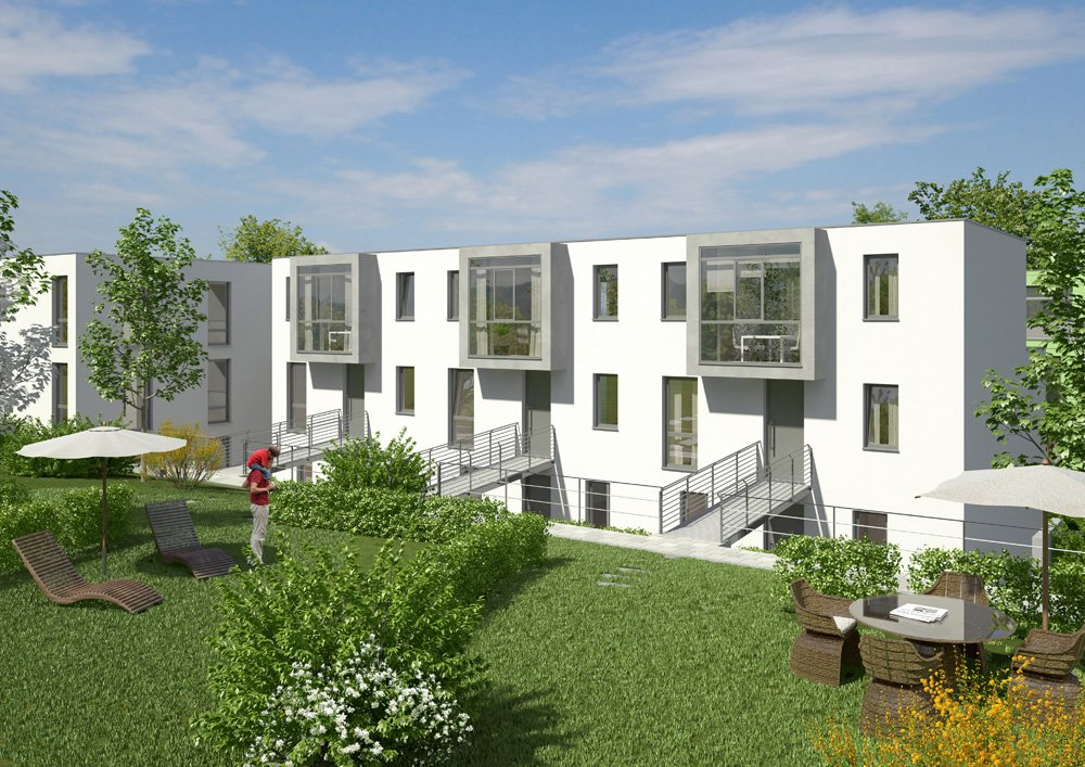 garten ensemble regensburg kassecker projekt neubau immobilien informationen. Black Bedroom Furniture Sets. Home Design Ideas
