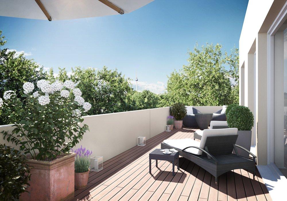 bilder und fotos vom bauvorhaben parkterrassen im schweizer viertel. Black Bedroom Furniture Sets. Home Design Ideas