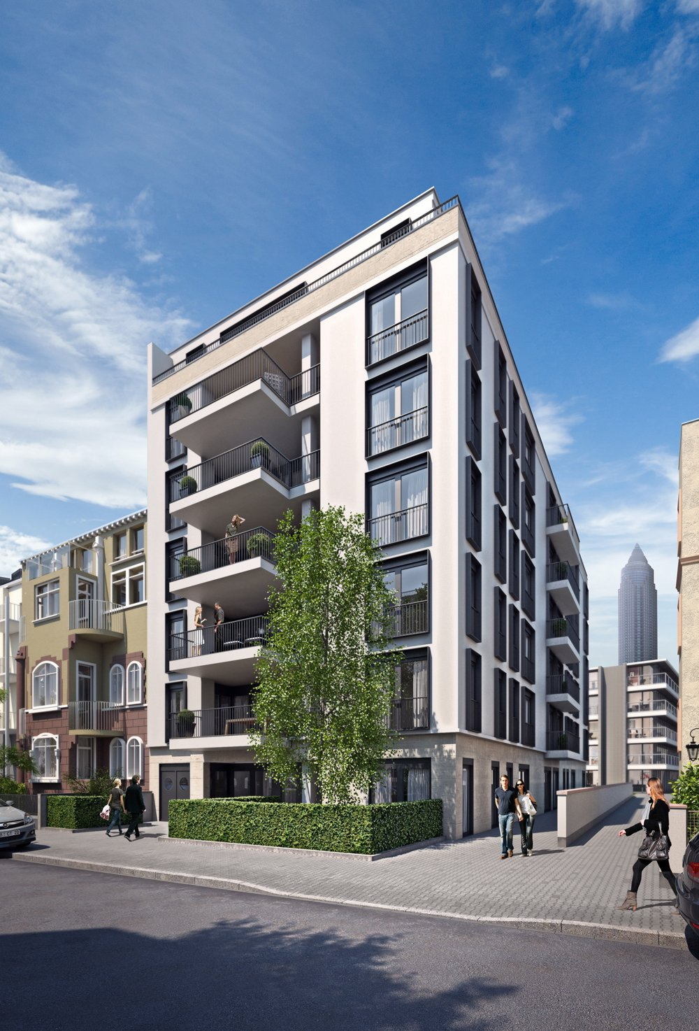 atico living frankfurt am main westend s d dahler company frankfurt neubau immobilien. Black Bedroom Furniture Sets. Home Design Ideas
