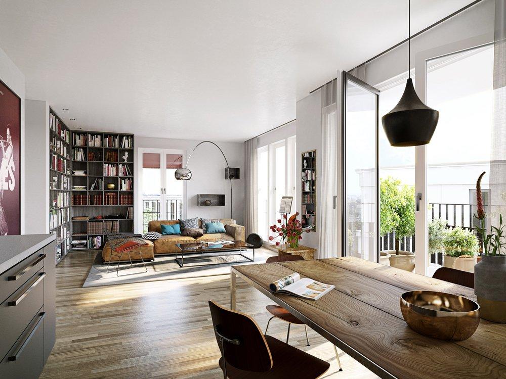 bilder und fotos vom bauvorhaben metronom. Black Bedroom Furniture Sets. Home Design Ideas