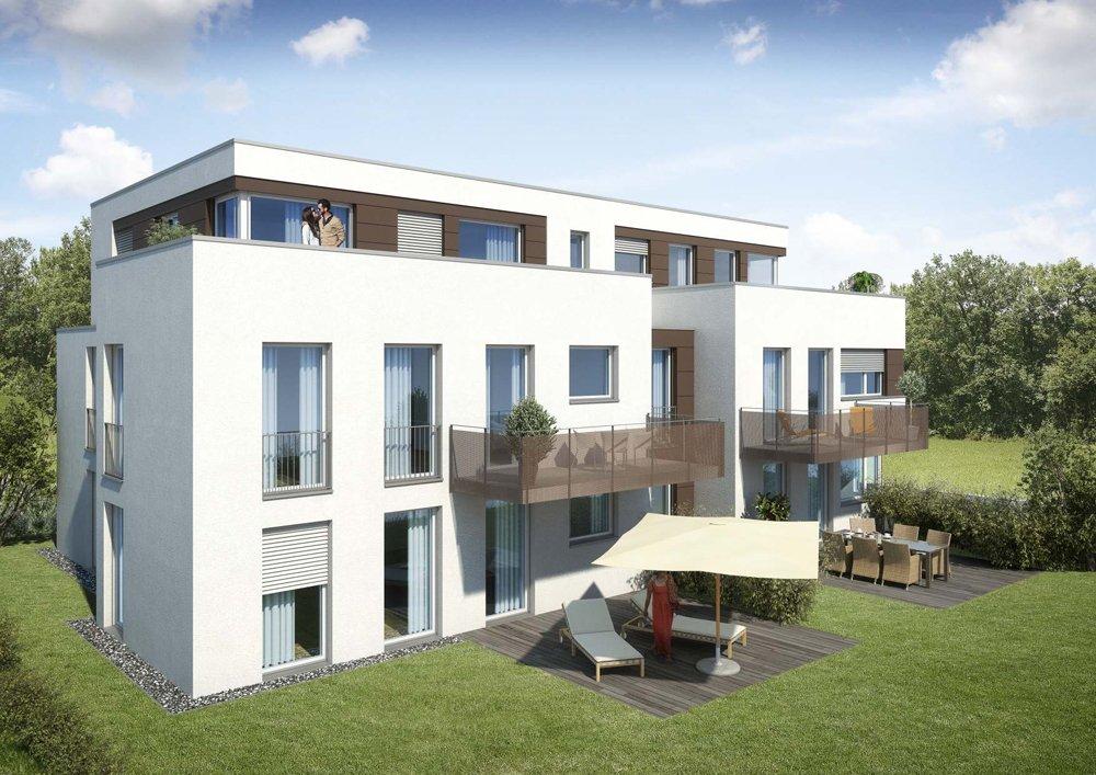 bauhaus architektur leonberg leonberg wohnbau merkt. Black Bedroom Furniture Sets. Home Design Ideas