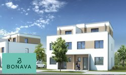 Neubauten in Radebeul: Doppelhäuser im Dichterviertel