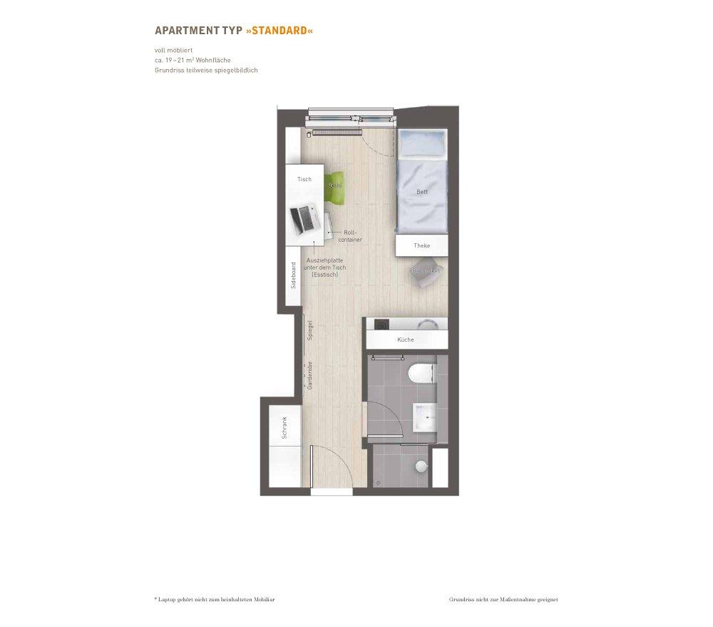 grundrisse und pl ne vom bauvorhaben campus viva berlin. Black Bedroom Furniture Sets. Home Design Ideas