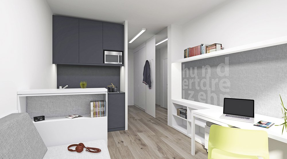 bilder und fotos vom bauvorhaben campus viva berlin. Black Bedroom Furniture Sets. Home Design Ideas