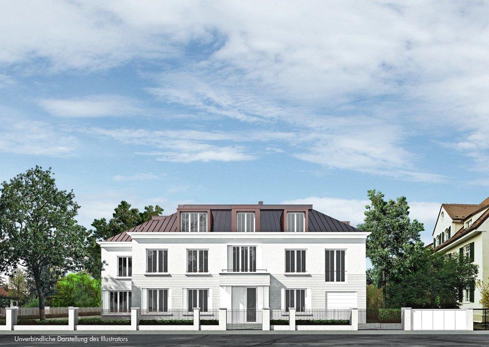 Klassische Villa Neubau classic edition fr19 - münchen-obermenzing - h-i-m villenbau