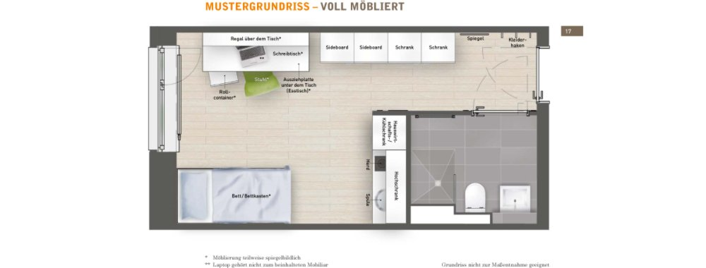 grundrisse und pl ne vom bauvorhaben campus viva bremen. Black Bedroom Furniture Sets. Home Design Ideas