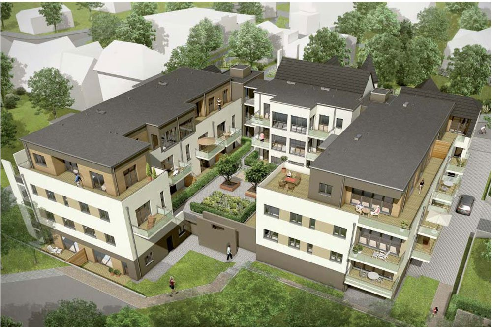 bilder und fotos vom bauvorhaben fasanenhof ahrensburg. Black Bedroom Furniture Sets. Home Design Ideas