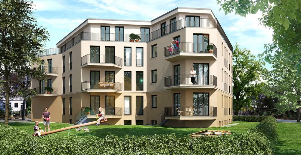 """Energy-efficient new build real estate in Germany"" – an example: New build property development project ""Greenside"" by Jones Lang LaSalle Residential Development GmbH"