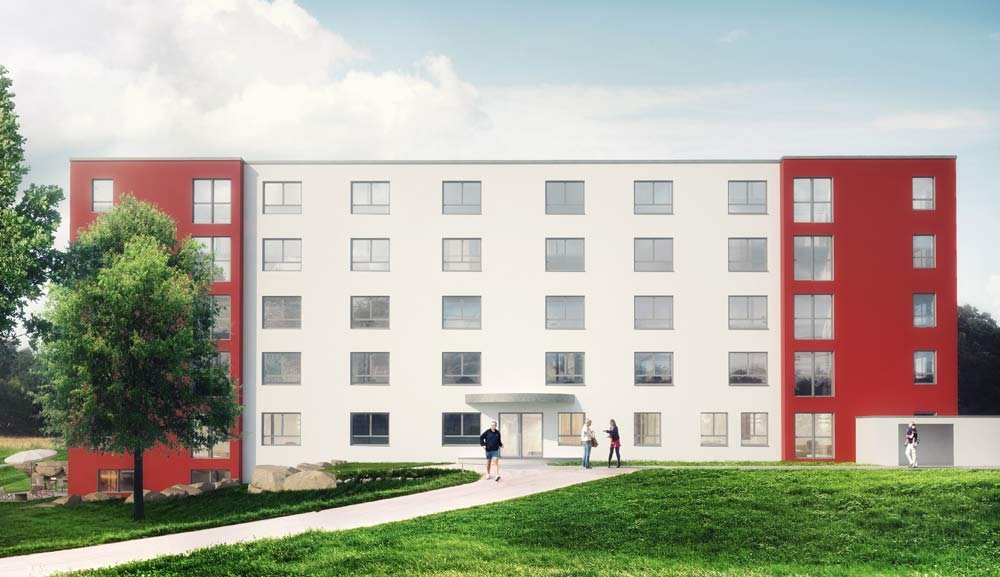 "Capital investment in care home properties: pros and cons. An example: ""Seniorenwohn- und Pflegezentrum Leimen"", offered by developer WirtschaftsHaus Gruppe."