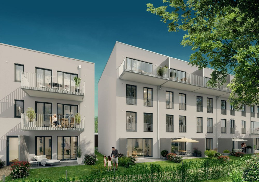 "Our title picture comes from new build real estate project ""269 ISEBEK"" in Hamburg by property developer Behrendt Gruppe."