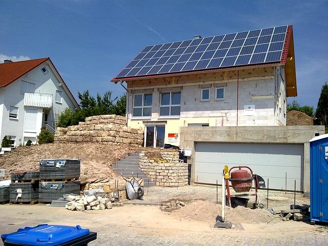 Germany's booming real estate market gets a bosst from multiple funding programmes for houses built to energy-efficient standards.