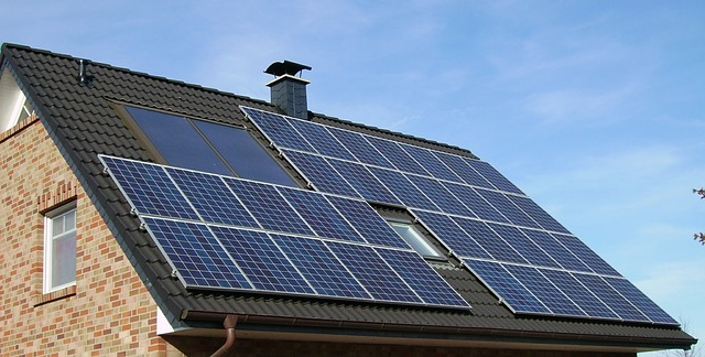 A solar installation atop a new build property's roof is a good way to attract financing from the German government-backed KfW development bank.